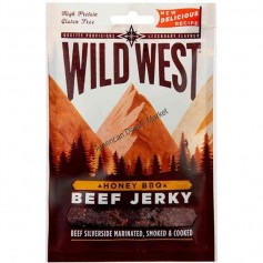 Wild west beef jerky honey BBQ 100g