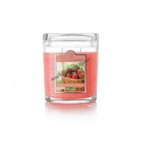 CC moyenne jarre fresh strawberry rhubarb