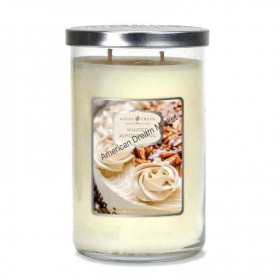 GC tumbler whipped almond icing