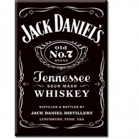 Magnet jack daniel's black