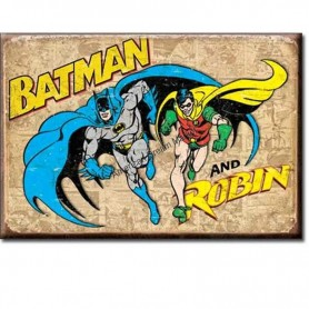 Magnet batman and robin