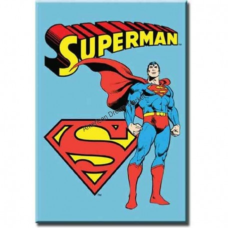 Magnet superman retro