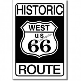 Magnet historic 66