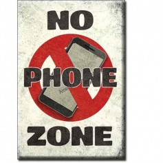 Magnet no phone zone