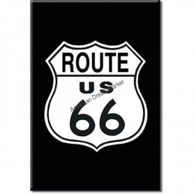 Magnet route 66 shield