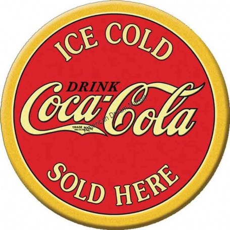 Magnet coke ice cold round