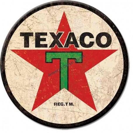 Magnet texaco logo round