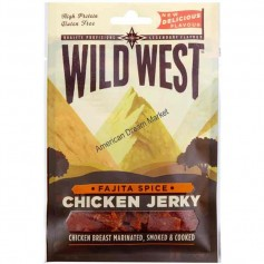 Wild west chicken jerky fajita spice 100g