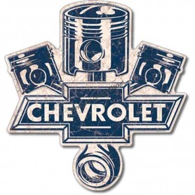 Plaque métal GM chevrolet