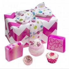 Coffret Bomb cosmetics glitter gift