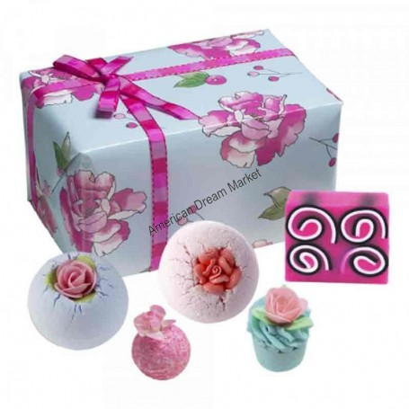 Coffret Bomb cosmetics what in carnation