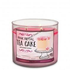 BBW bougie pink petal tea cake