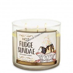BBW bougie hot fudge sundae