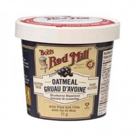 Bob's red mill oatmeal blueberry hazelnut