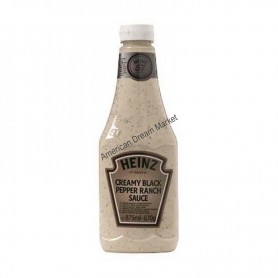 Heinz creamy black pepper ranch sauce 875g