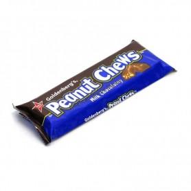 Peanut chews milk chocolatey