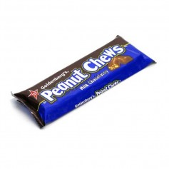 Peanut chews milk chocolatey