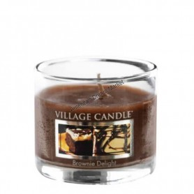 VC Votive verre brownie delight