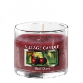 VC Votive verre black cherry
