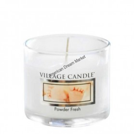 VC Votive verre powder fresh