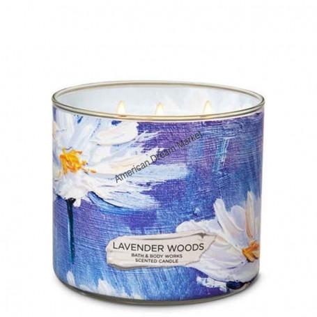 BBW bougie lavender woods