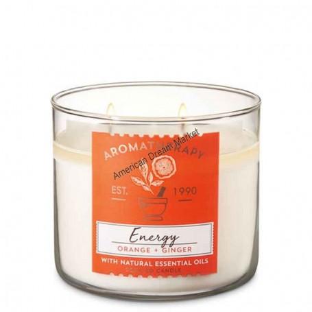 BBW bougie aromatherapy energy