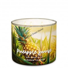 BBW bougie pineapple sunrise