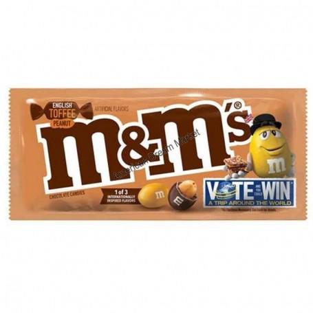 M&m's english toffee peanut 49.3g