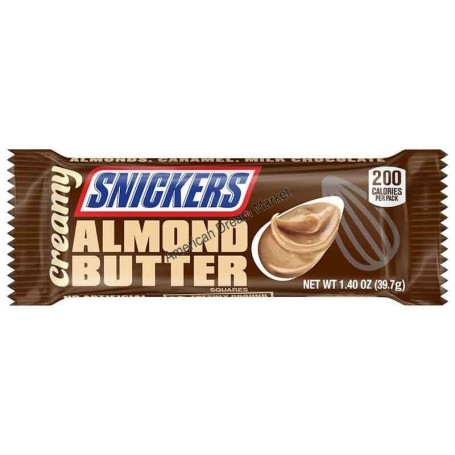 Snicker creamy almond butter