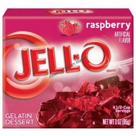 Jell-O Gellée à la framboise