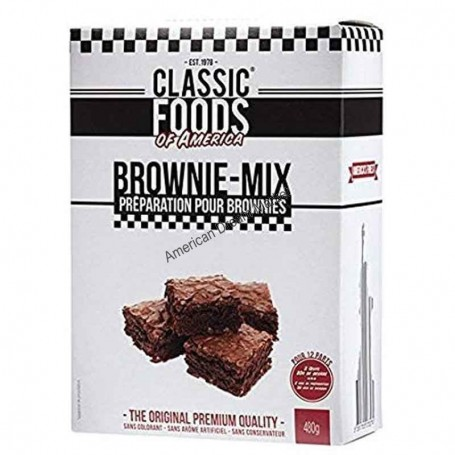 Classic food brownie mix