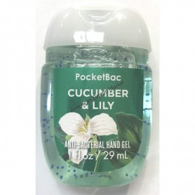 Gel cucumber and lily
