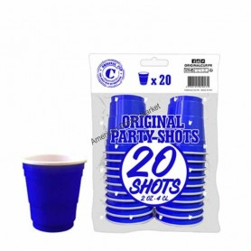 SHOOTERS bleu 4cl