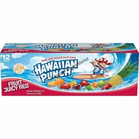 Hawaiian punch juicy red x12