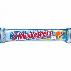 3 musketeers bar birthday cake share size