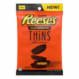 Reese's peanut butter cup thins dark
