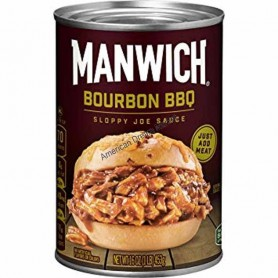 Manwick sloppy joe sauce bourbon BBQ