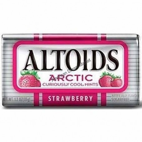 Altoids artic strawberry