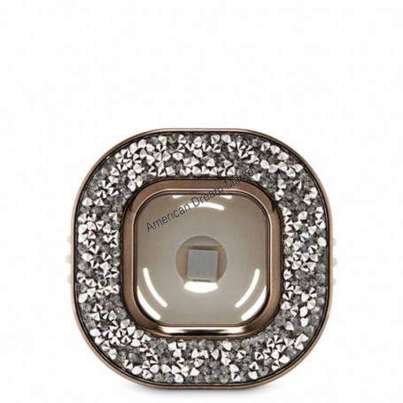 Scentportable gemstone square vent clip
