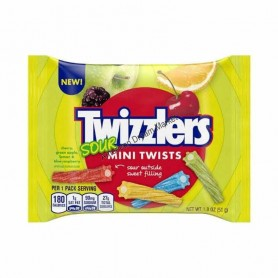 Twizzlers sour mini twists