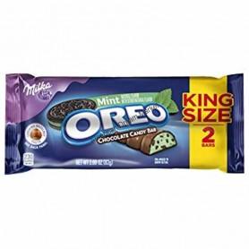 Milka oreo mint chocolate bar king size