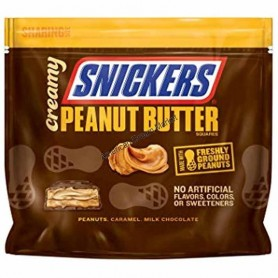Snicker creamy peanut butter sharing size
