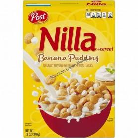 Nilla cereal banana pudding
