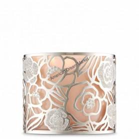 Porte bougie BBW silver rose