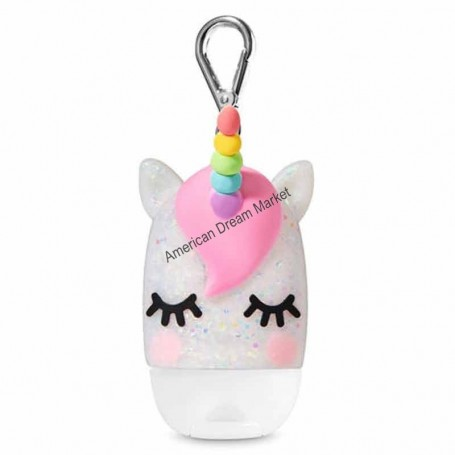 Support pour gel sparkly sleeping unicorn
