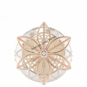 Scentportable metallic flower