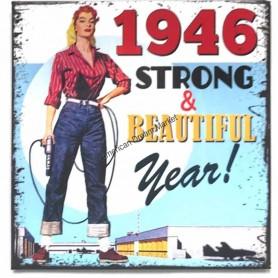 Magnet vintage 1946