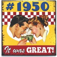Magnet vintage 1950