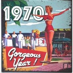 Magnet vintage 1970