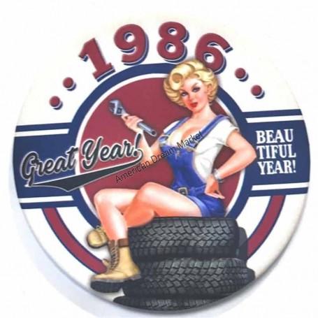 Magnet vintage 1986